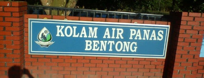 Kolam Air Panas Bentong is one of @Bentong, Pahang.