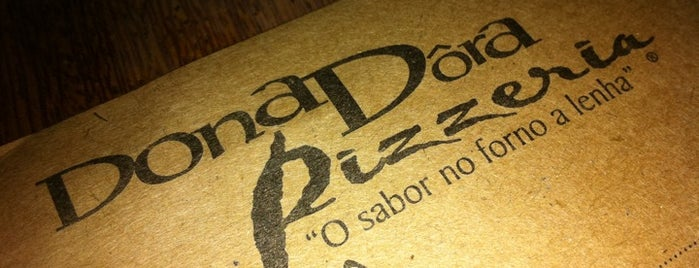 Dona Dôra Pizzeria is one of Lugares recomendados Ipatinga.