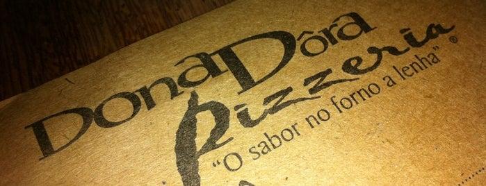 Dona Dôra Pizzeria is one of Tempat yang Disukai Thiago.