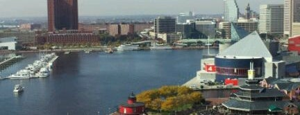 Baltimore Marriott Waterfront is one of Great Hotel stays in Baltimore.