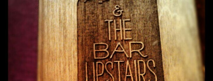 Tiny's and the Bar Upstairs is one of It's 5:00 somewhere 🍸.