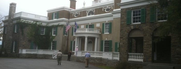 Franklin D. Roosevelt Presidential Library & Museum is one of Hudson Valley.