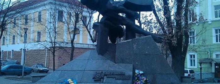 Пам'ятник Жертвам комуністичних злочинів is one of EURO 2012 LVIV (MONUMENTS).