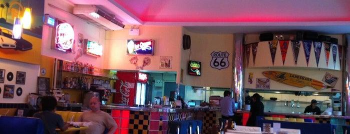 V8 Diner is one of Bangkok March 2012.