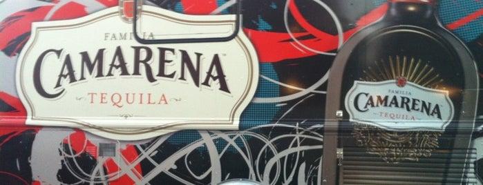Camarena Tequila Truck is one of สถานที่ที่บันทึกไว้ของ sarah.