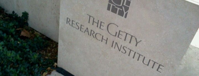 Getty Research Institute is one of artartart.