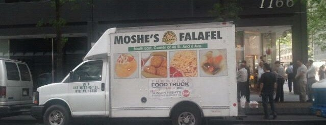 Moshe's Falafel Truck is one of Our Favorite Food Trucks!.