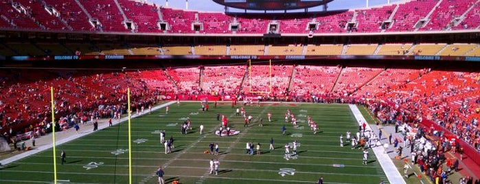 Arrowhead Stadium is one of Stadium.