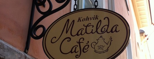 Matilda cafe is one of Lieux sauvegardés par My.