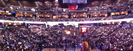 Pepsi Center is one of NBA Arena Guide.