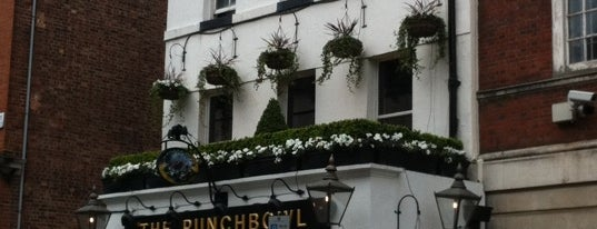 The Punch Bowl is one of London To-do.