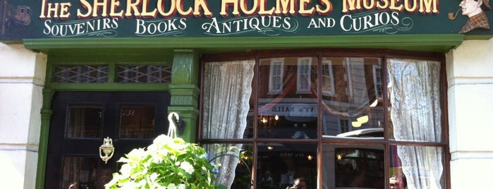The Sherlock Holmes Museum is one of London☕️🍫🍨.