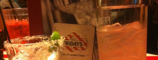 TGI Fridays is one of dates.