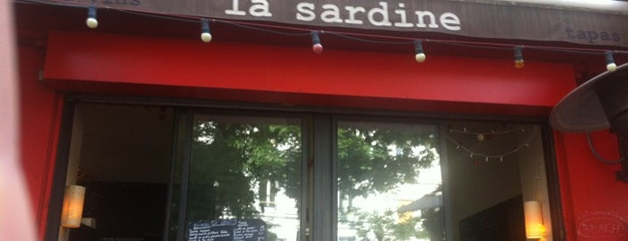 La Sardine is one of Paris - Terrasse.