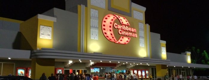 Caribbean Cinemas is one of Estefaniaさんのお気に入りスポット.