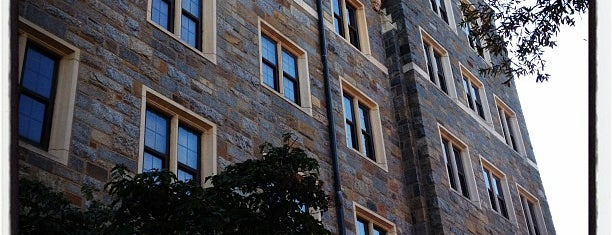 Copley Hall is one of Georgetown Campus Tour.