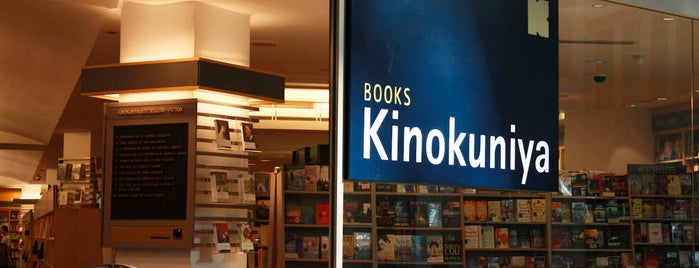 Books Kinokuniya is one of NY.
