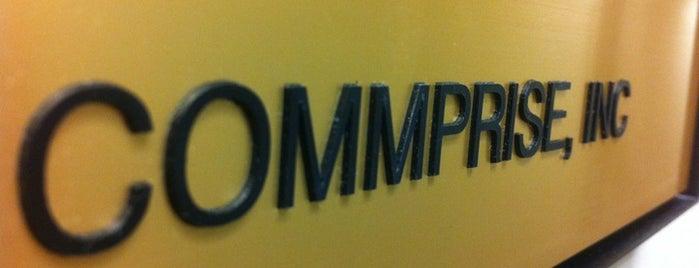 Commprise, Inc is one of Andrew : понравившиеся места.