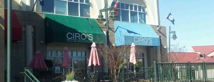 Ciro's Italian Restaurant is one of Lugares guardados de Alex.