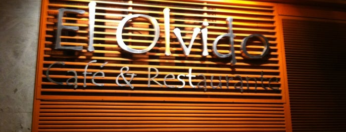 El Olvido is one of list-to-eat (Madrid).