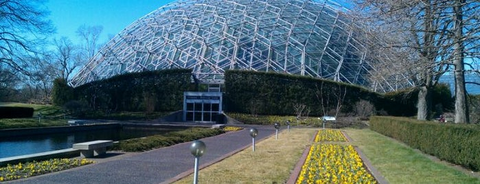 Missouri Botanical Garden is one of St. Louis.