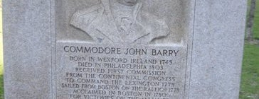 Commodore John Barry Monument is one of IWalked Boston's Public Art (Self-guided Tour).