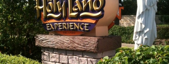 Holy Land Experience is one of Pixie and Jenna in South Florida.