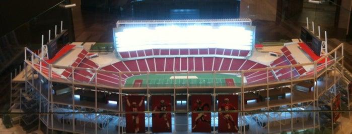 Levi's Stadium is one of Bay Area.