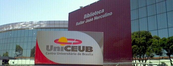 UniCEUB - Centro Universitário de Brasília is one of Lieux qui ont plu à Gabby.