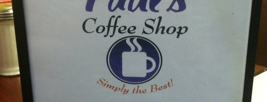 Paul's Coffee Shop is one of Diners, Drive-Ins, & Dives.
