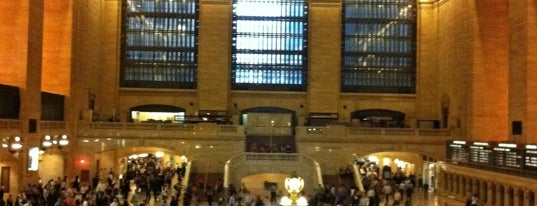 Grand Central Terminal is one of places.