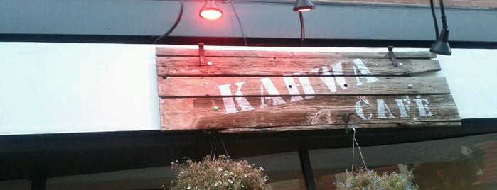 Kahwa Café is one of Top café coffee shops Montreal.