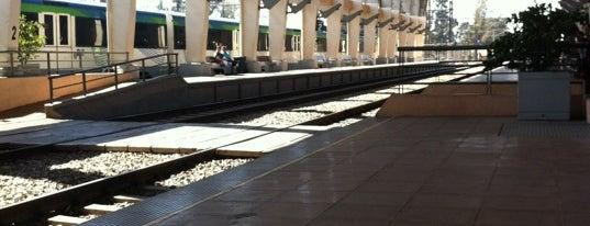 Estación Metrotren Rancagua is one of Estaciones Metrotrén y Expreso Maule.