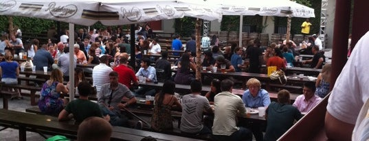 The Garden at Studio Square is one of A Comprehensive List of Beer Gardens in NYC.