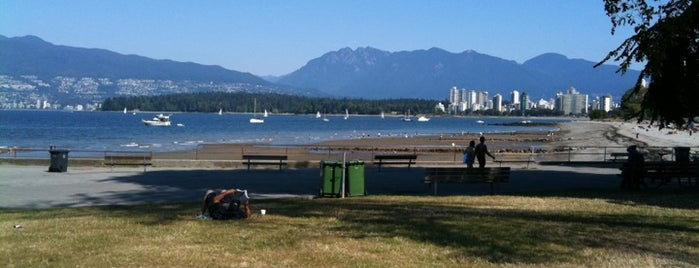 Kitsilano Beach is one of Top 10 favorites places in British Columbia.