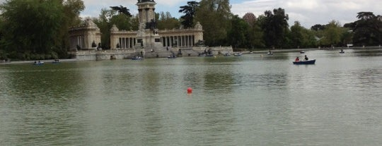 Parque del Retiro is one of The Best Of Madrid.