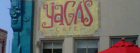 Yaga's Café is one of Outside-of-Austin Traveler.