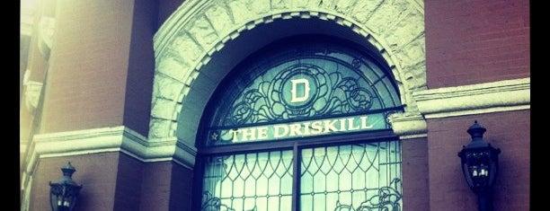 The Driskill is one of Stevenson's Favorite World Hotels.