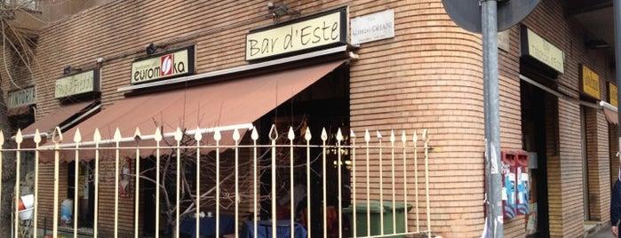 Bar D'Este is one of Lieux qui ont plu à Anna.
