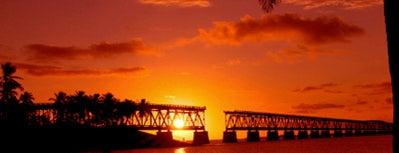 Bahia Honda State Park is one of Blondie's favorite dating spots.