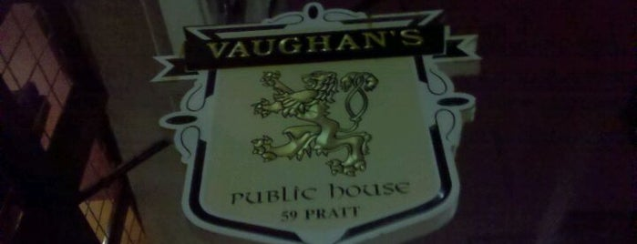 Vaughan's Public House is one of Posti che sono piaciuti a Nick.