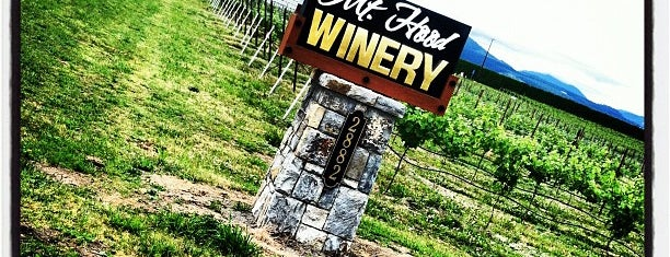 Mt. Hood Winery is one of Wineries Visited.