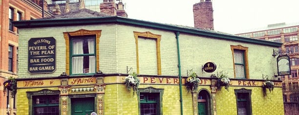 Peveril of the Peak is one of Manchester to-do.