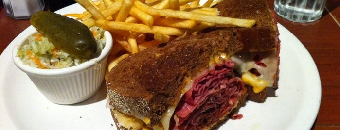 Reuben's Restaurant Delicatessen is one of Montreal.