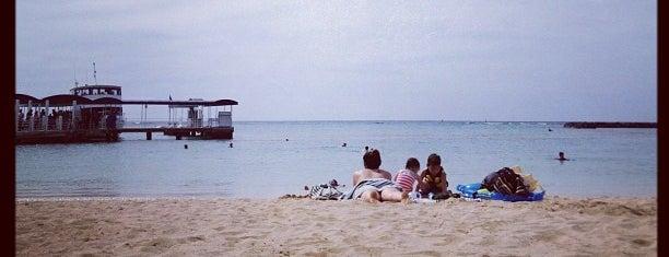 Duke Kahanamoku Beach is one of Hawaii.