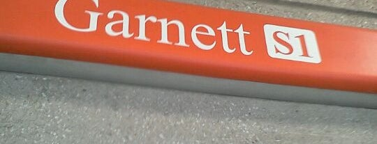 MARTA - Garnett Station is one of Georgia.