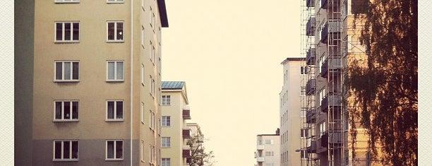 Kristineberg is one of Stockholm.