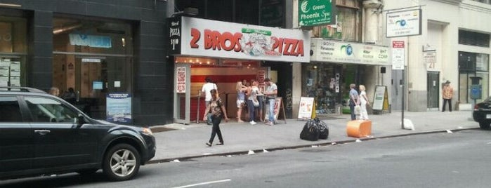 2 Bros. Pizza is one of Best NYC Pizza.