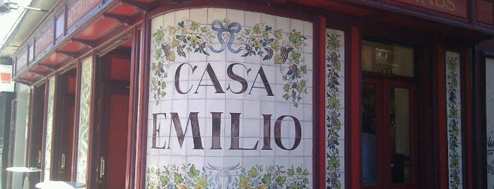 Casa Emilio is one of Rincones X Madrid.