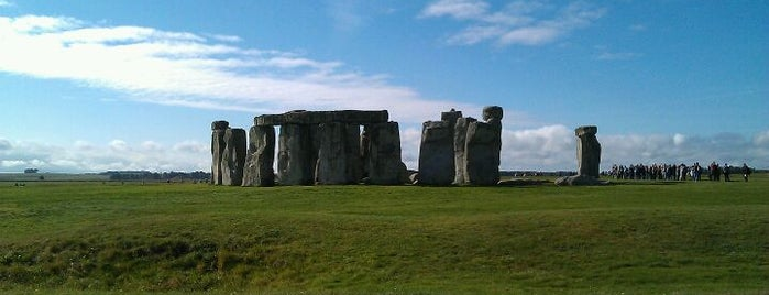 Stonehenge is one of In the Future.